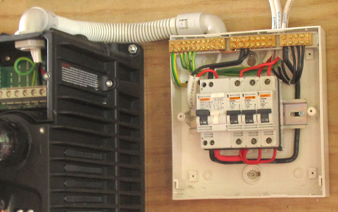 ac distribution for our humble abode 3 circuits is all we need heres the result covers off